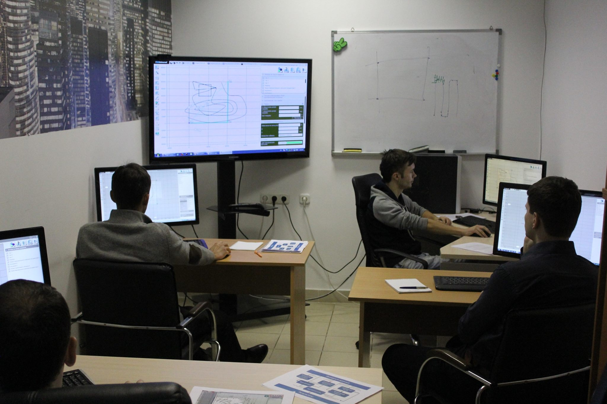 The Course of Training and Guidance at Simmakers Development Center