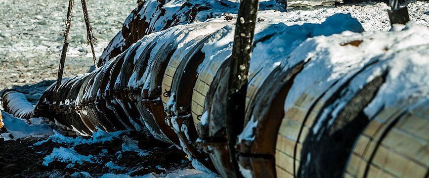 Operation of oil pipelines in permafrost regions
